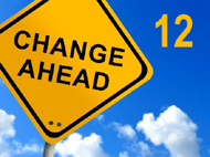 12 points of change